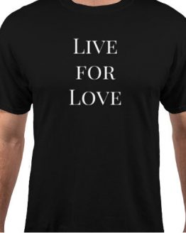 Live For Love Mens Tee